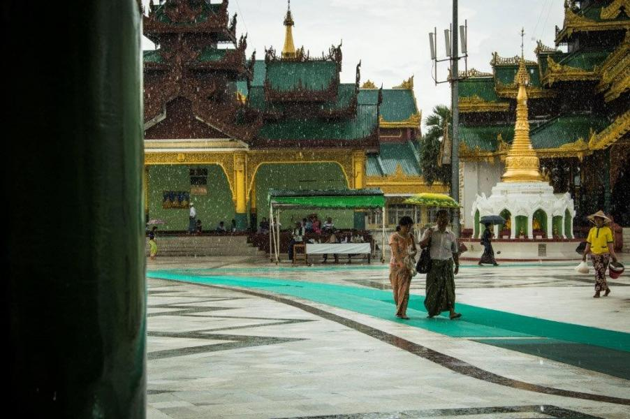 Yangon, Shwedagon Pagoda (photo Camilla Caparrini)