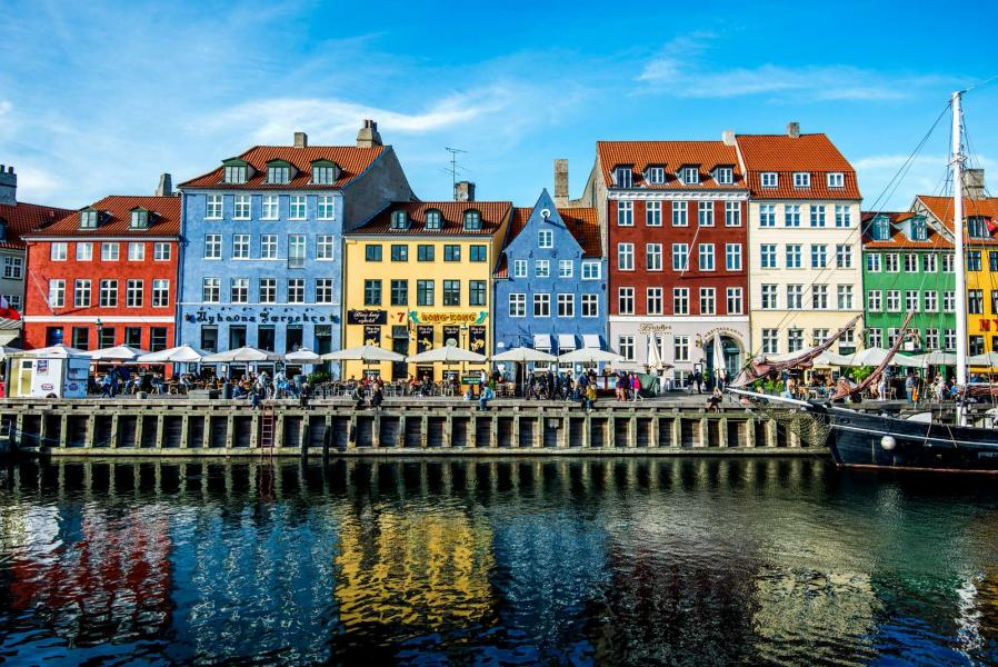 Colorful houses in Nyhavn©Jacob Schjørring & Simon Lau-Copenhagen Media Center