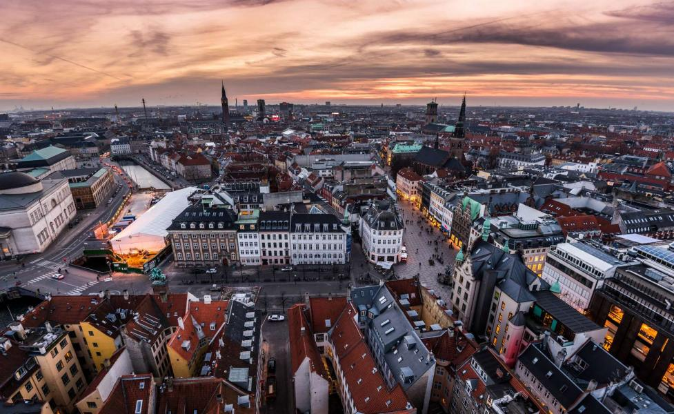 Copenhagen from the top©Jacob Schjørring & Simon Lau - Copenhagen Media Center
