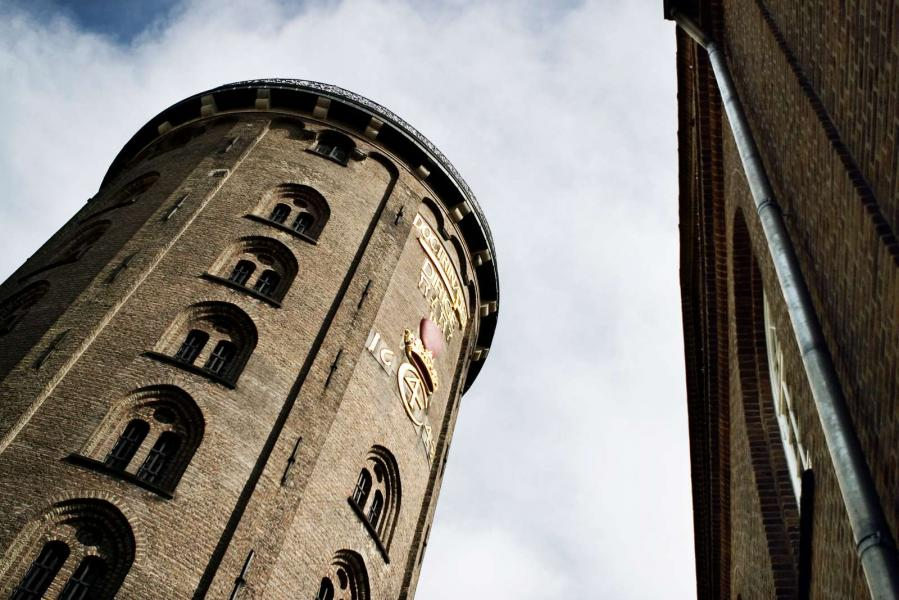 The round tower seen from below©Morten Jerichau-Copenhagen Media Center