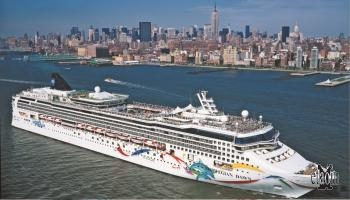 La Norwegian Dawn a New York  (© Norwegian Cruise Line)